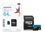KARTA PAMIĘCI 64GB micro SDXC class 10 + ADAPTER SD