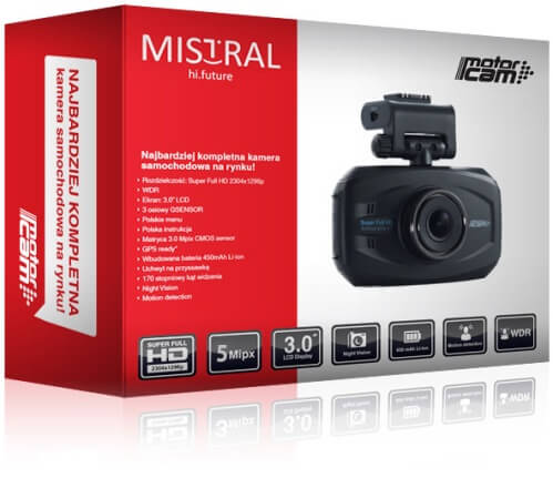 Motorcam MC-141 - box