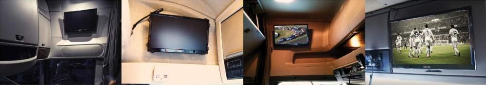 Telewizory Samochodowe Mistral - zastosowanie
